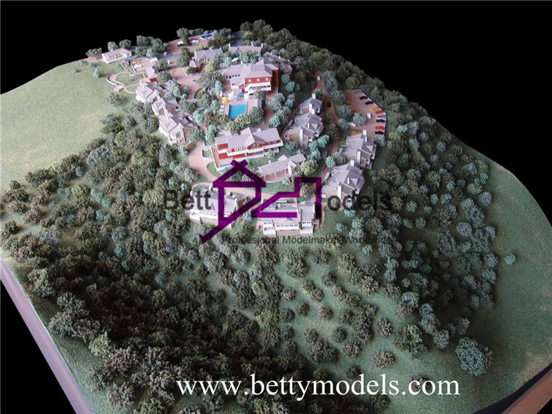 architectural topography models