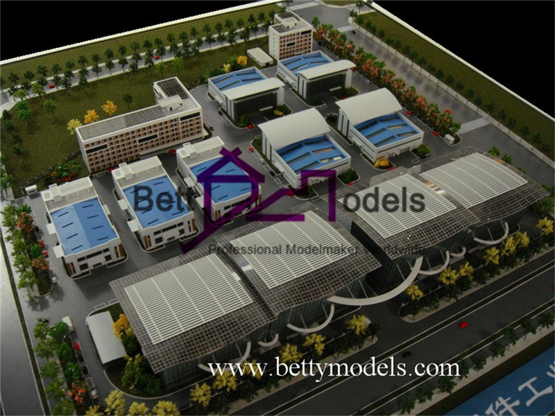 India Factory architectural models