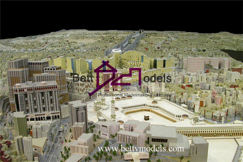 Makkah city plan models