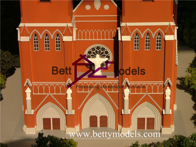 Xujiahui church architectural models