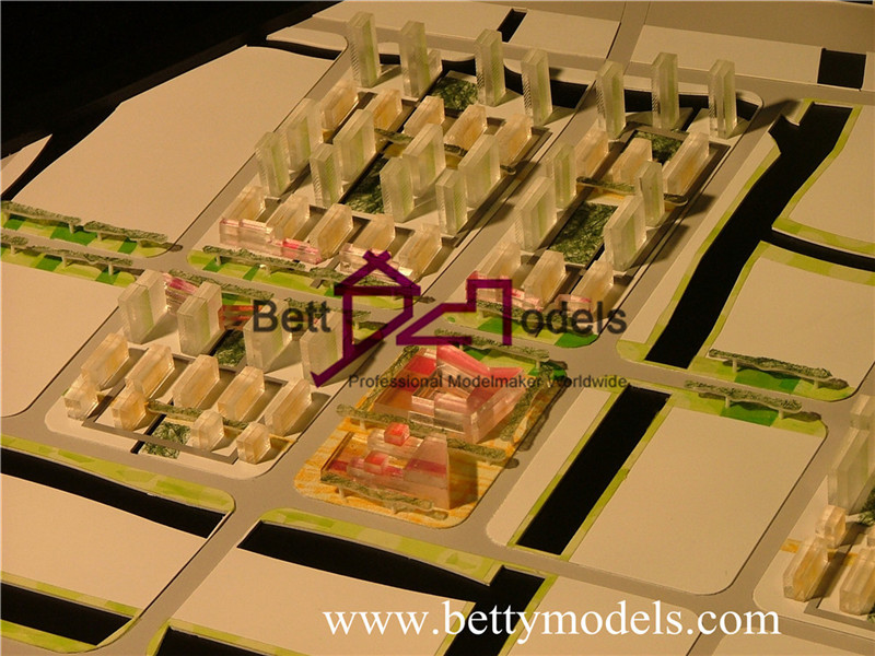Jiading residential planning models