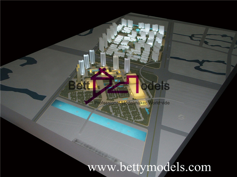 lighting glass architectural models