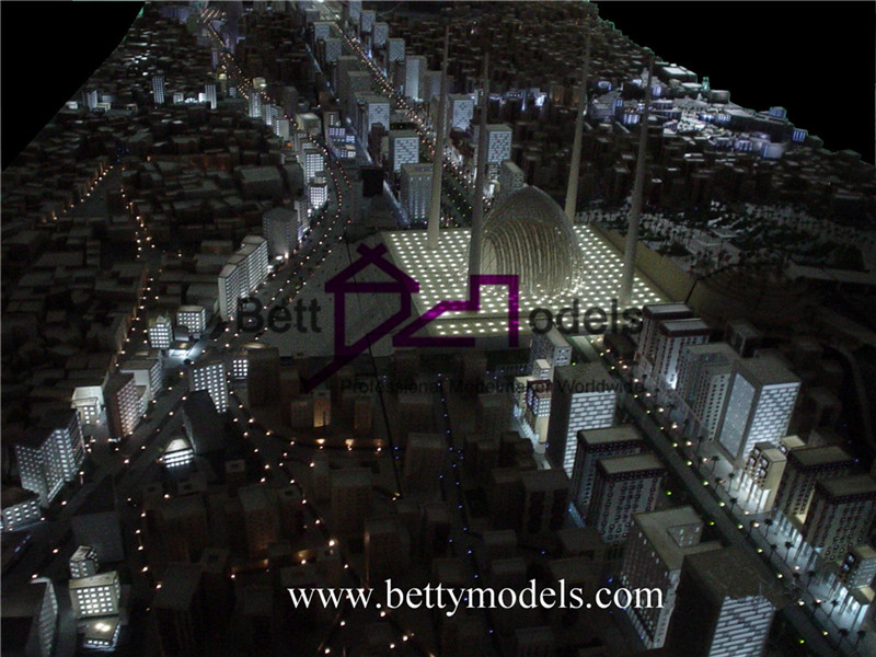 Makkah illuminated scale models
