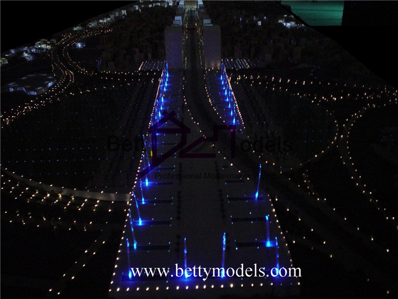 Makkah illuminated architectural models
