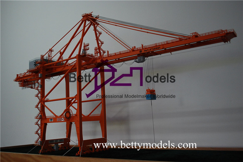 traveling crane scale models