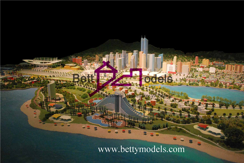 China city planning models