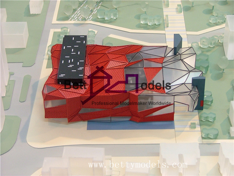 plaza architectural models