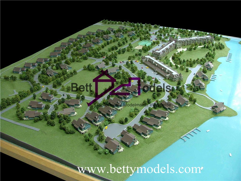 beachfront architectural models