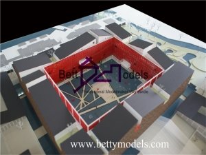 The butterfly Lovers Hotel conceptual models