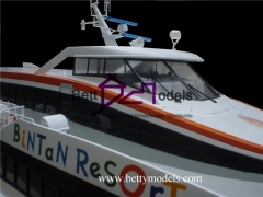 Dubai BI color ship models