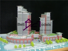 3D Four seasons hotel models