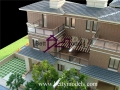 Bahrain 1:35 villa table scale models