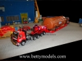 Factory transportation scene scale models