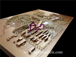 India residential villa scale models