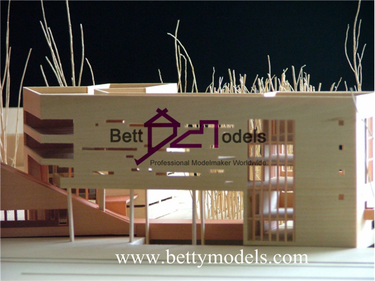 Qatar wood architectural scale models scale model for Architecture companies qatar
