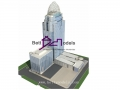 Pakistan bank tower scale models